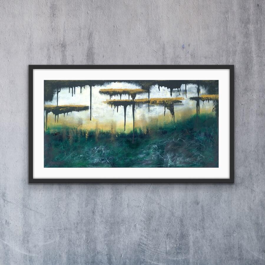 Golden Escape - Print | AlessandraViola.co.uk