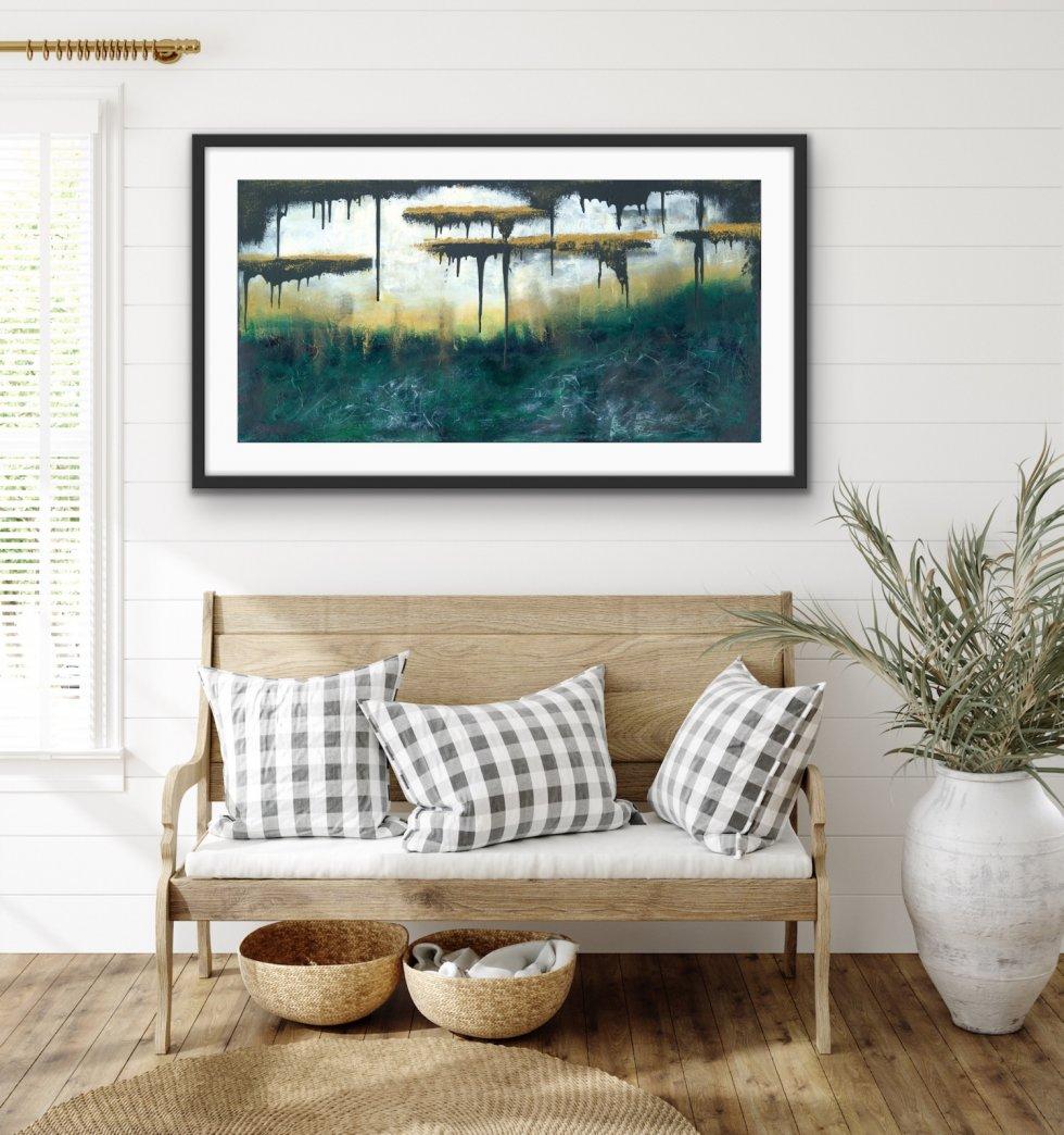 Golden Escape - Print - Home Interior | AlessandraViola.co.uk