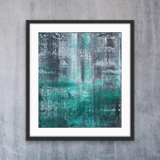Green Dots - Print | AlessandraViola.co.uk