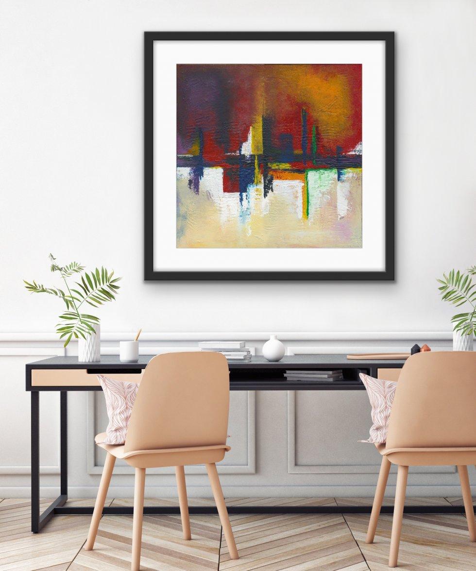 Into Two World - Print - Home Interior | AlessandraViola.co.uk