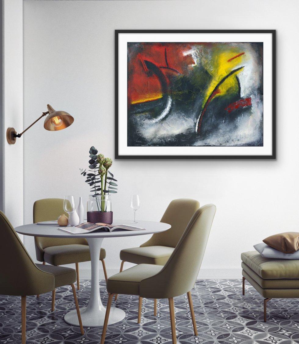 Vibrations - Print - Home Interior   AlessandraViola.co.uk