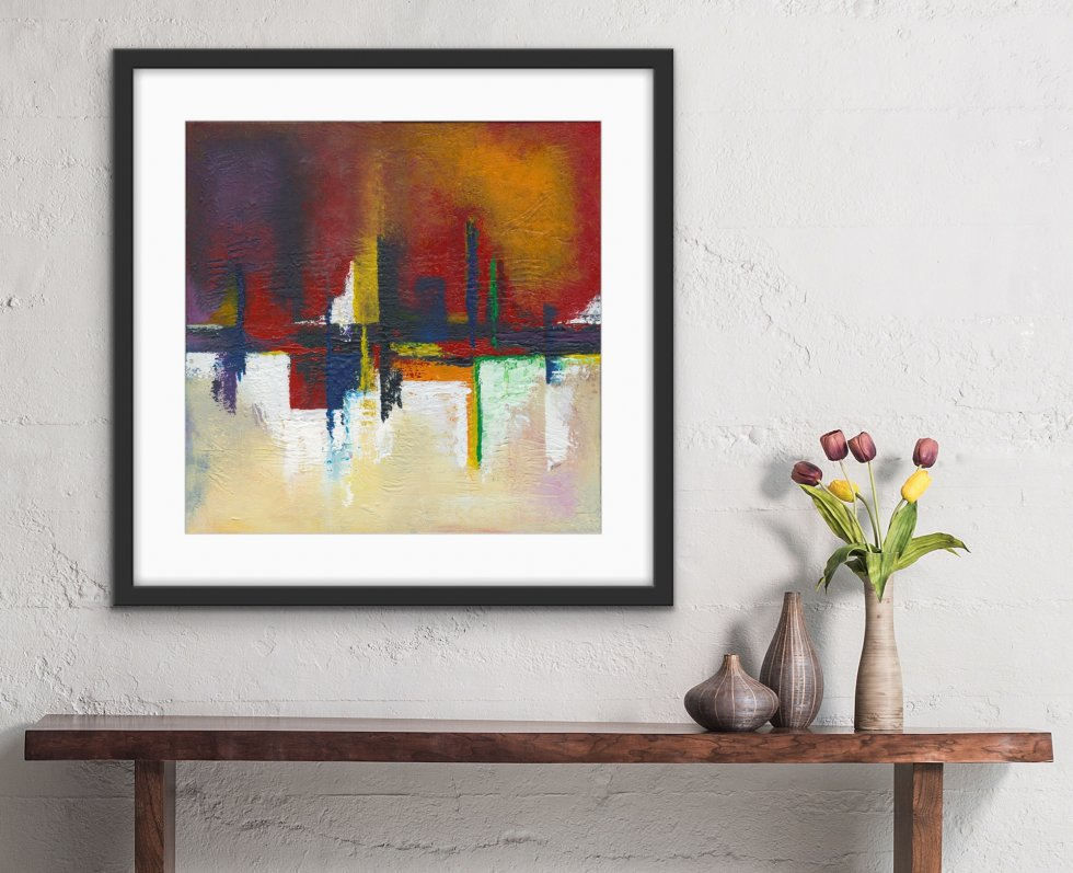 Into Two Worlds - Print - Home Interior | AlessandraViola.co.uk