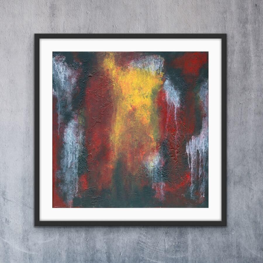 Coloured Dust- Print   AlessandraViola.co.uk