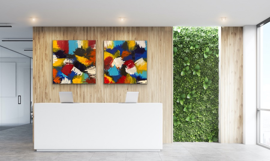 Layers of Colours - Home Interior   AlessandraViola.co.uk