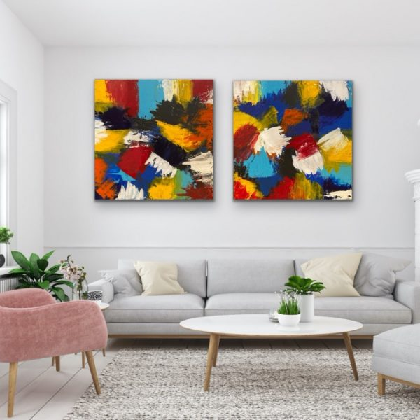 Layers of Colours - Home Interior | AlessandraViola.co.uk
