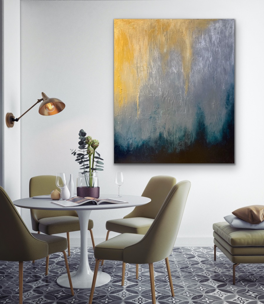 Golden Rays - Home Interior | AlessandraViola.co.uk