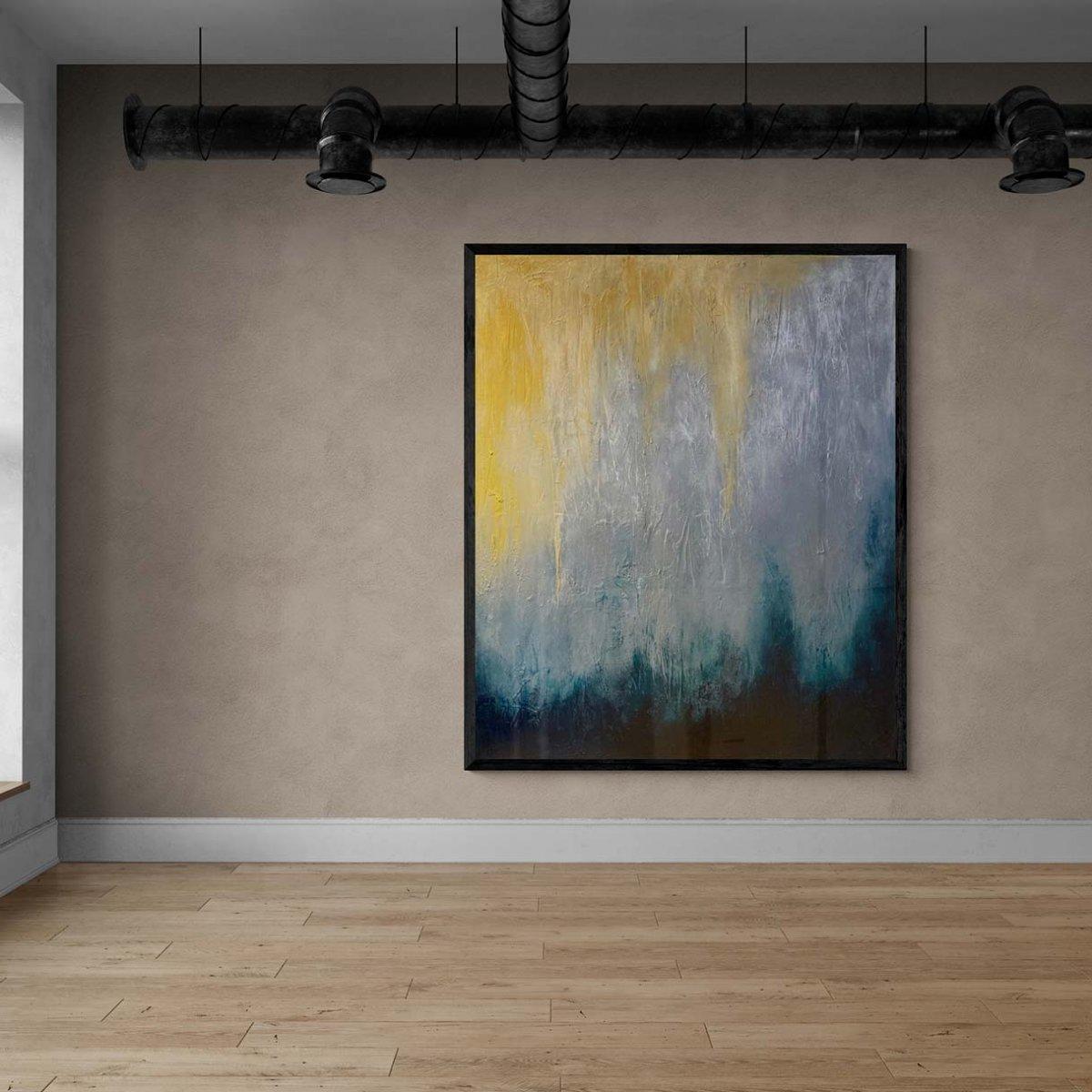 Large empty industrial studio gallery | AlessandraViola.co.uk