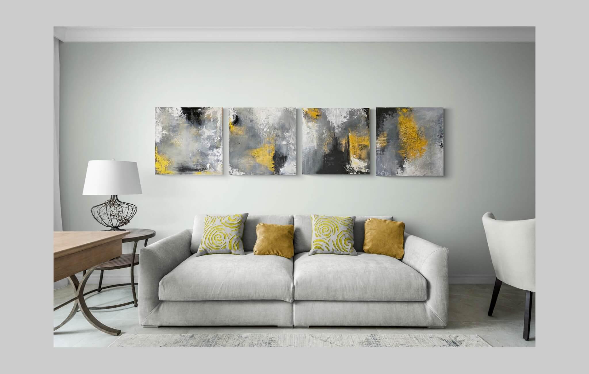 Making Art A Statement Piece with Split Canvas Artworks   AlessandraViola.co.uk